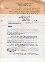 Image of 2006.3.2 - Borough Records- Planning board & agendas