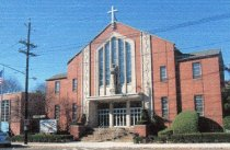 Image of 2006.7.7 - Second Saint Johns Catholic Church with 1955 facade.