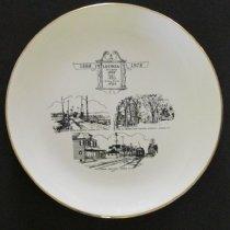 Image of 2012.2.1 - Commemorative plate