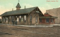 Image of 2014.1.3 - Train Station,1880 color view