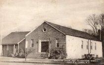 Image of 2014.1.7 - American Legion Hall Broad Avenue circa 1948