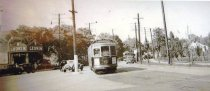 Image of 2014.3R - Trolley at the triangle, 1930's