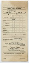 Image of Requisition Form of Wallace Howes