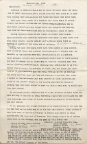 Image of Typed Speech of Wallace Howes