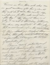 Image of Handwritten Speech of Wallace Howes