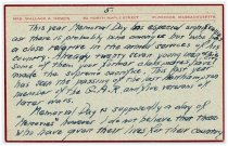 Image of Speech Notecard of Wallace Howes - 5