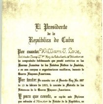 Image of Copy of same certificate