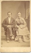 Image of Penn, Worden P. & wife, Mary