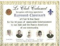 Image of 2011.10.34 - Certificate, Achievement