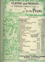 Image of Sheet music for piano.  Also contains 'Love and Flowers'.  Sold in Lewiston, ME. - Songbook