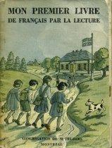 Image of School textbook used in Lewiston parish schools - Book