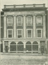 Image of First National Bank, Lewiston, 1911