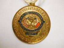 Image of Medal - Franco-American Volunteer Brigade Medal, 1910