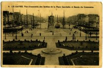 Image of Postcard, Le Havre, 1945