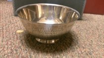 Image of Bowl from Richelieu Club of Manchester NH to L/A club 1960