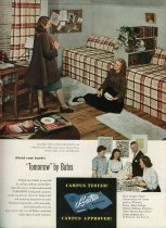Image of Bates Manufacturing Magazine, October 1947, Back Cover