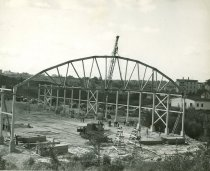 Image of Construction, St Dominic's Arena, Lewiston, 1949
