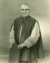 Image of Msgr Martin, Preist at Holy Cross, Lewiston, nd