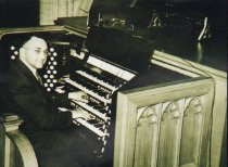Image of George Giboin, organiste at ST .Peter and Paul's from 1925 to 1945