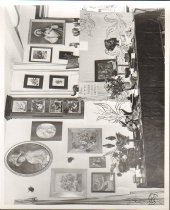 Image of Arts and Crafts exhibit, Students of Mere St. Paul, o.p. at her Bates St. c