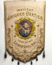 Image of Institut Jacques Cartier banner, front