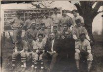 Image of Assumption College Baseball Team, Worcester, MA, 1930/1