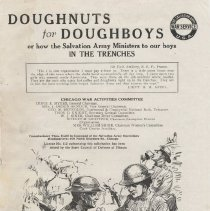 Image of 1980.1 - A magazine titled The Salvation Army War Service articles concerning the the works of the Salvation Army Doughnut Girls in France during World War I.