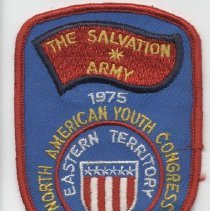 Image of A arm patch commemorating the North American Youth Congress in Toronto, Canada in 1975. - 1975