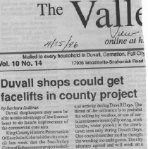 Image of Duvall shops could get facelifts in county project