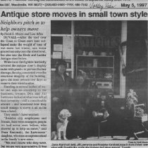 Image of Antique Store Moves in Small Town Style