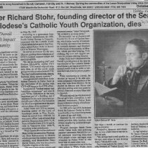 Image of Father Richardson Dies of Cancer