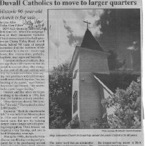 Image of Duvall Catholics move to larger quarters
