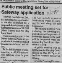 Image of Safeway application