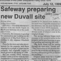 Image of Duvall Safeway site