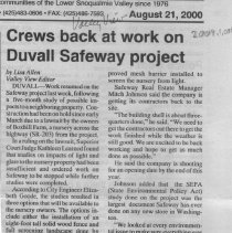 Image of Safeway project