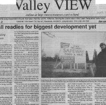 Image of Duvall readies Safeway development