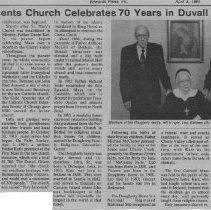 Image of Holy Innocents church celebrates 70 years in Duvall