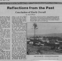 Image of Conclusion of Early Duvall