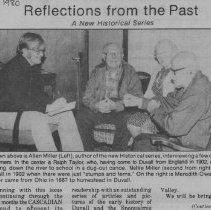 Image of 2009.1.056 - Newspaper Article
