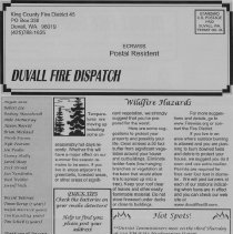 Image of Duvall Fire dispatch 2006 page 2