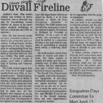 Image of Duvall Fireline 4/16/81
