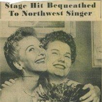 Image of Martha Wright, Broadway singing star