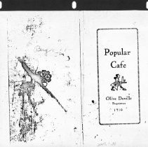Image of Popular Cafe menu