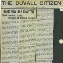 Image of Bank Now Has Charter-The Duvall Citizen