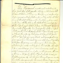 Image of Contract, Page 1