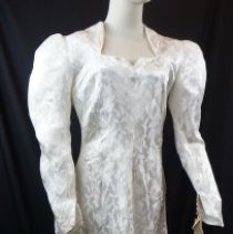 Image of 2010.137.0001 - Gown, Wedding