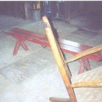 Image of 2003.090.005 - Shank's Mill,  Mill Race Entrance, Mill Interior