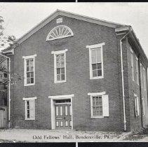 Image of Odd Fellows' Hall, Bendersville Pa