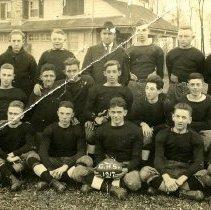 Image of 4113.001 - Gettysburg High School Football, 1917