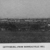 Image of 4934.001 - View of Gettysburg